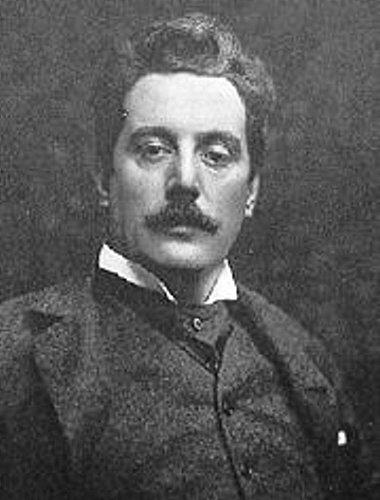Giacomo Puccini.