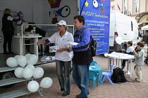 Prezentace projektu Hvězdy Severovýchodu v Jičíně.