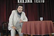 Jiřina Jirásková na Šrámkově Sobotce.