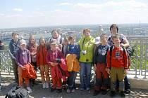 Z výletu žáků ZŠ Nemyčeves v rámci projektu Comenius.