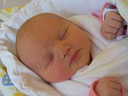 Nikola Menclová se usmívá na svět od 12. listopadu, kdy se narodila s mírou 49 cm a váhou 3,12 kg. Šťastní rodiče Soňa a Tomáš Menclovi si malou Nikolku odvezli domů do Pelešan.