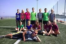 Atletický oddíl Dětského centra Ostroměř.