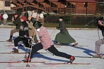 Peckovské historické lyžování.