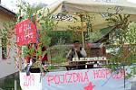Recesistické oslavy 1. máje v Úbislavicích.