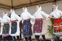 Z bělohradského festivalu písní a tanců.