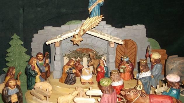 Výstava betlémů v lomnickém muzeu.