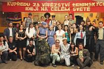 Důstojnický večírek v Podůlší, jaro 2012.