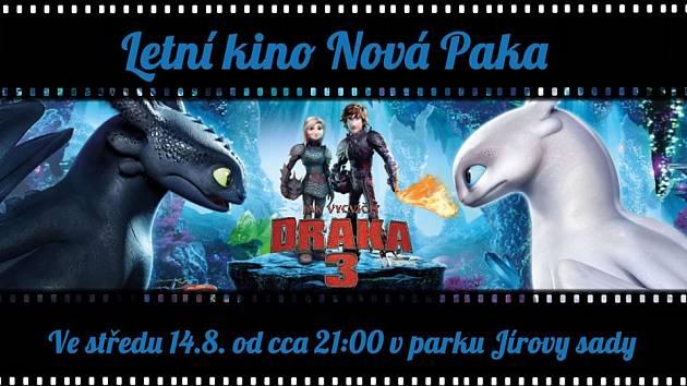 V Nové Pace myslí v letním kině i na děti.
