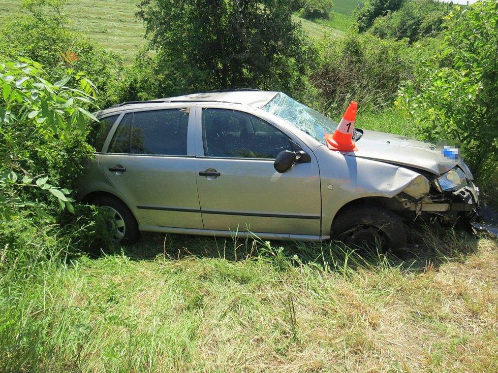 Dopravní nehodu u Sobotky má na svědomí zřejmě únava.