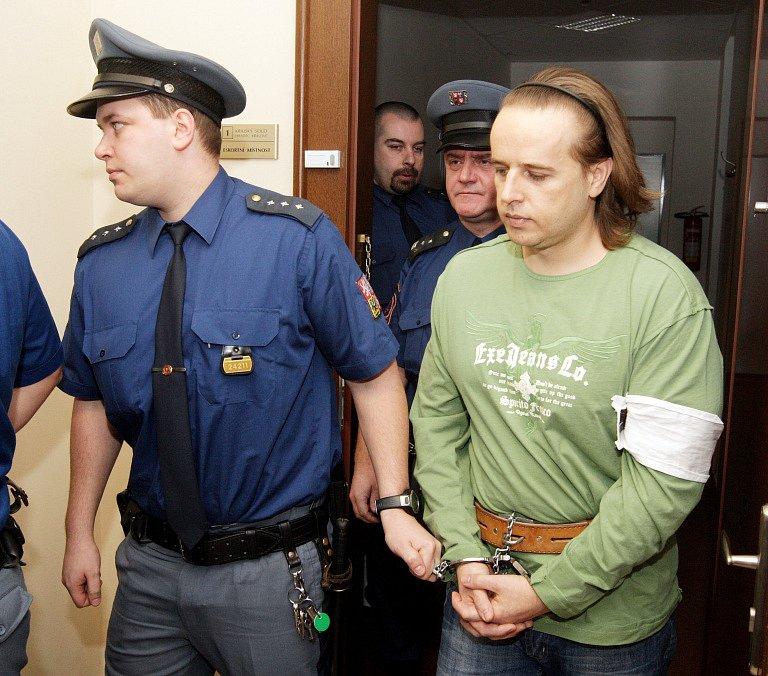 Korunní svědek Milan Horych.
