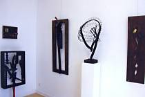 Z výstavy Petra Hebera v Německu.