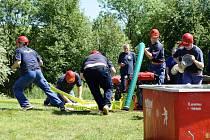 Dětský den a hasičská soutěž v požárním sportu