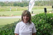 Golfistka Blanka Lisá.