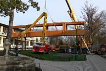 Bělohradské lázeňské domy budou spojeny lávkou.