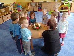 Z Bělohradské mateřské školy.
