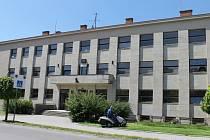 Budova hořického gymnázia.