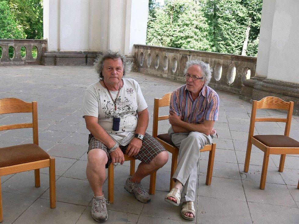 Petr Heber a Michail Ščigol.