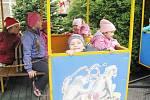 Z výletu dětí ostruženské mateřinky do liberecké ZOO.