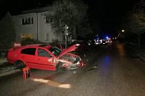 Nehoda v novopacké Kumburské ulici.