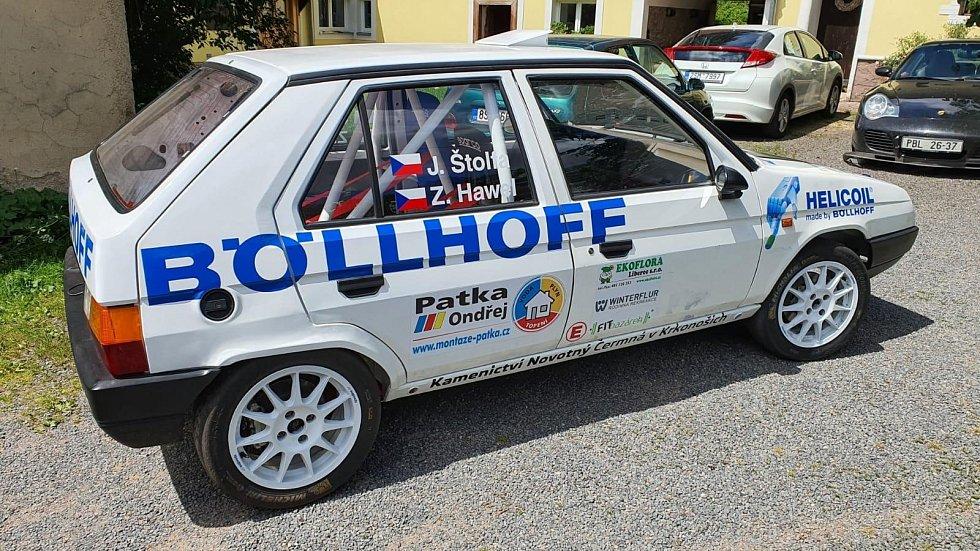 Z testu před letošní Rally Bohemia