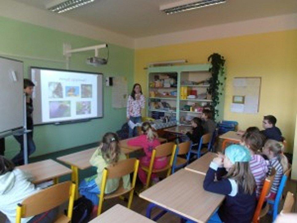 Den Země školáků v Běcharech.