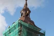 Jičínský kostel sv. Ignáce v rekonstrukci.