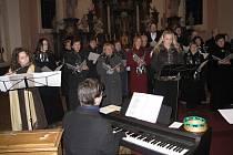Koncert sboru Smetana v jičínském kostele u sv. Jakuba.
