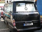 Škoda 1203 v provedení pohřebního vozu.