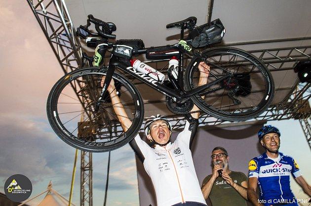 Cyklista Daniel Polman z Nové Paky zabodoval na italském mistrovství v ultracyklistice.