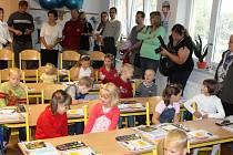 První školní den v jičínské Z. ZŠ
