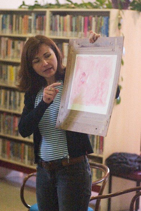 Ilustrátorka Markéta Laštuvková.