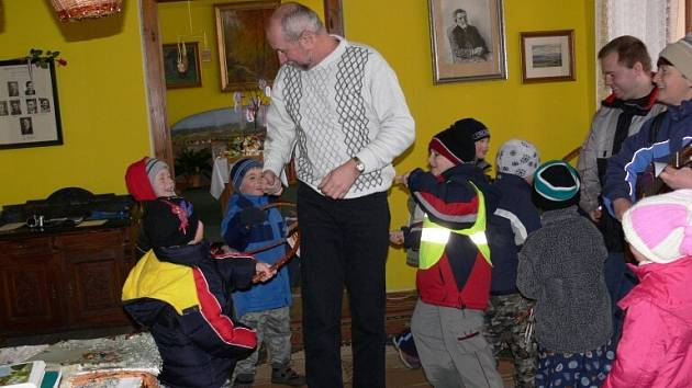 Z bělohradské velikonoční výstavy.
