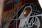 Farář Josef Kordík ze Železnice se zasloužil o opravu železnického kostela, do kterého nechal na svoje náklady pořídit skleněné vitráže.