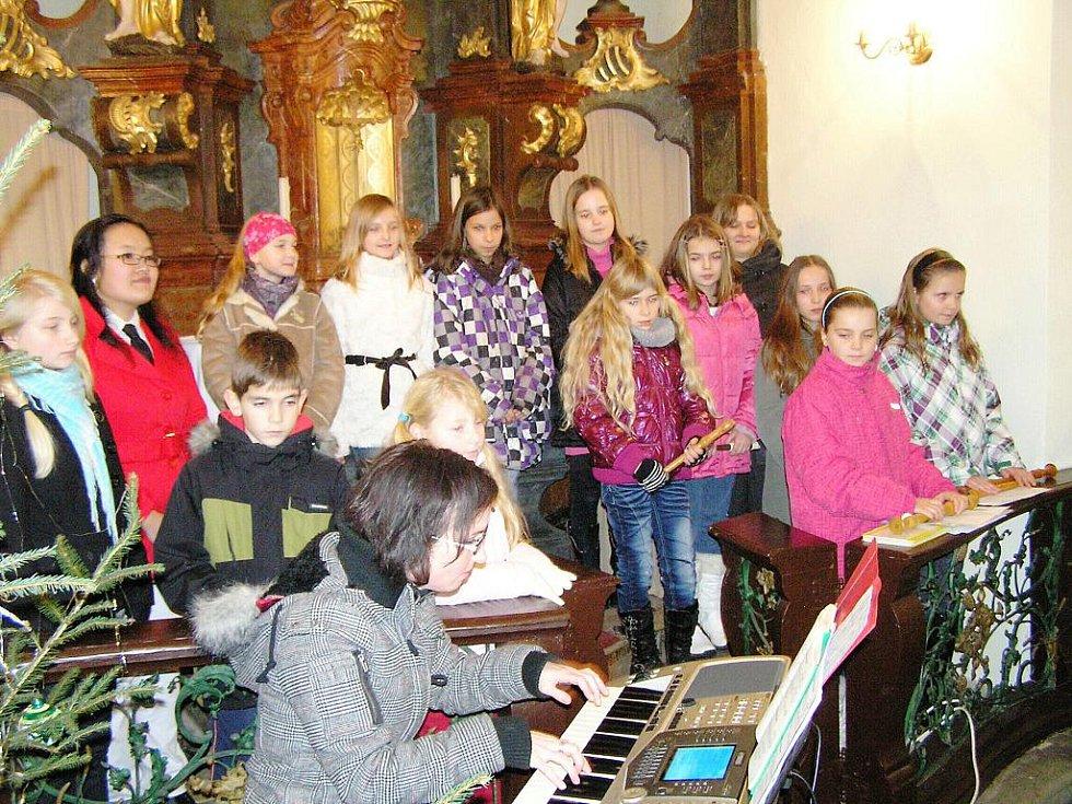 Koncert v bukvickém kostele.