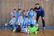 OKRESNÍ fotbalový výběr Jičínska U 10 na turnaji v Lázních Bělohradě.