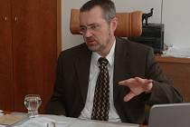 Ředitel bělohradských Anenských slatinných lázní Radim Kalfus.