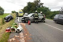 Dopravní nehoda u Bílska.