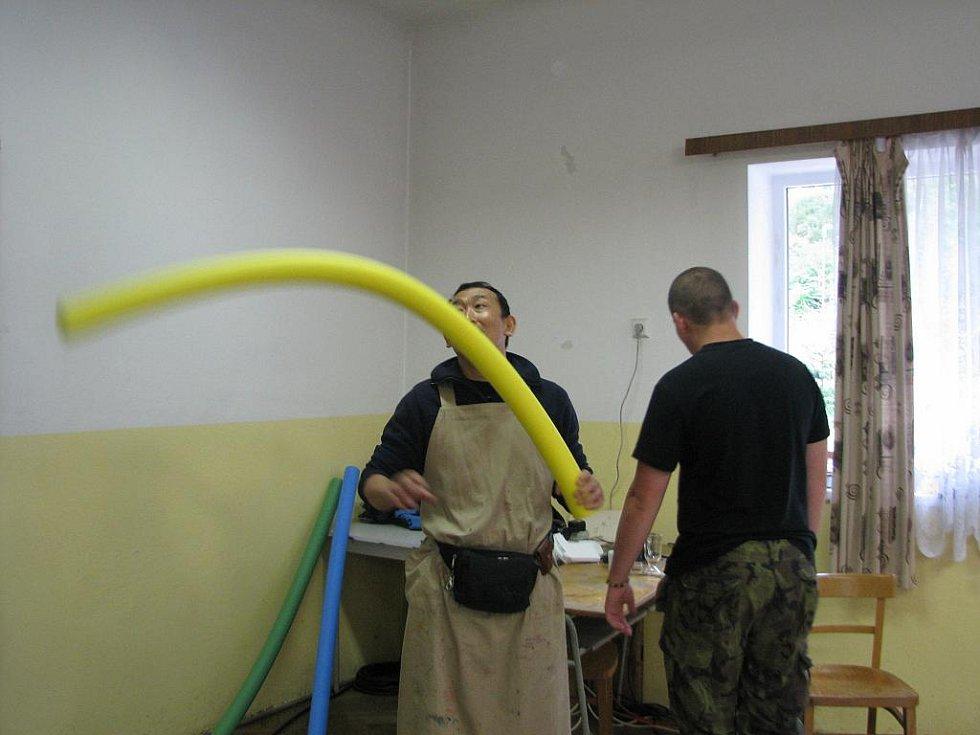 Letní dílny v Roškopově.