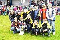 Vítězný tým Chomutic.
