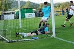Krajský přebor ve fotbale: TJ Jiskra Hořice - FC Spartak Rychnov nad Kněžnou.