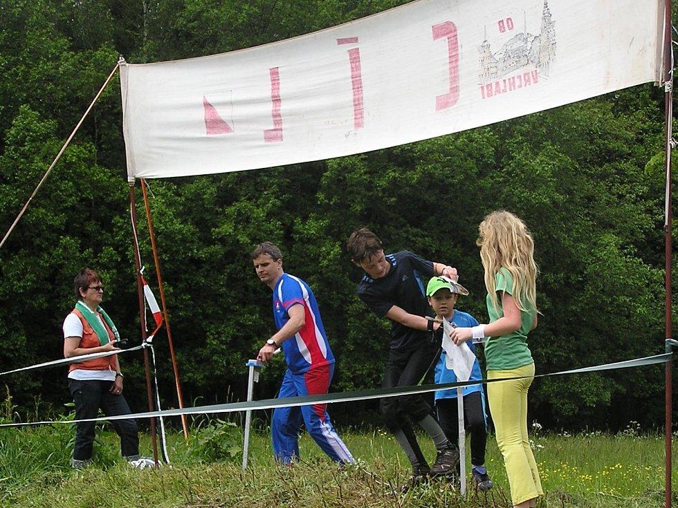 Jičínští orientační běžci.