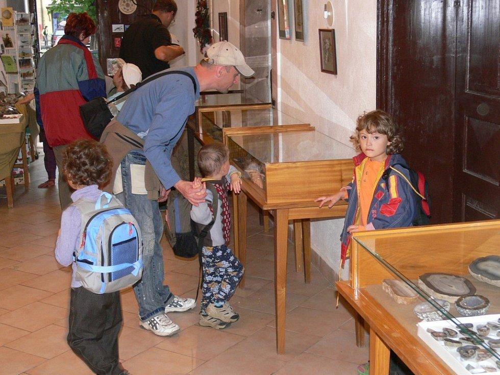 Expozice lomnického muzea.