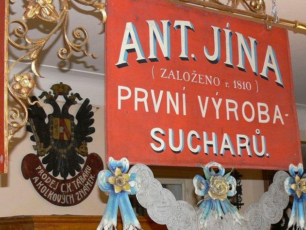 V lomnickém muzeu je instalována také expozice historie místních sucharů.
