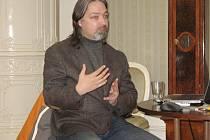 Beseda s Tomášem Mangelem o Keltech.