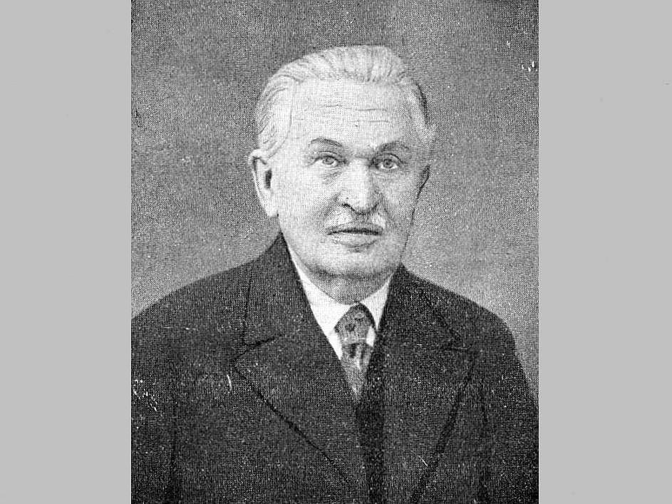 Architekt Karel Pařík.