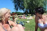 Poslední hodiny v nejmenší škole v Česku si děti z Úlibic užívaly.