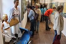 EXPOZICI Rozmarná léta na Jičínsku můžete zhlédnout ve výstavní chodbě muzea. Vernisáž byla minulý týden.