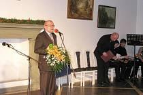Ze slavnostního ocenění Jindřicha Francka Osobností města Jičína 2011.