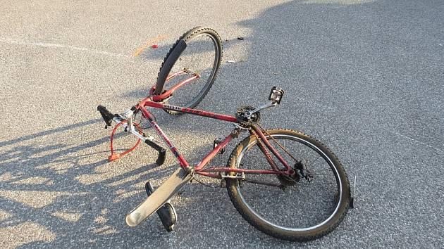 Nehoda si vyžádala těžké zranění.