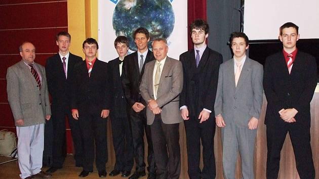 Účastníci národního kola soutěže Enersol.